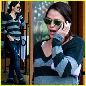 Jennifer Garner: Lunch at Louise's!