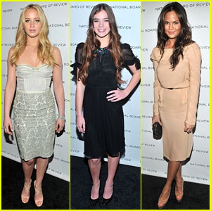 Jennifer Lawrence & Hailee Steinfeld: National Board of Review!