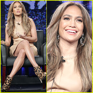 Jennifer Lopez: American Idol Panel at TCA Tour!
