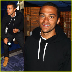 Jesse Williams: PlayStation Fun at Sundance!