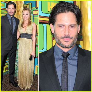 Joe Manganiello: HBO Golden Globes Party with Audra Marie!