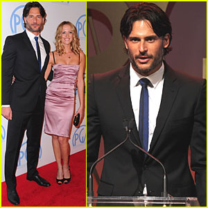 Joe Manganiello: Producers Guild Awards with Audra Marie!