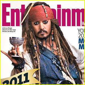 Johnny Depp Covers EW's 2011 Preview Issue
