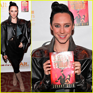 Johnny Weir: 'Welcome To My World' Release Party!