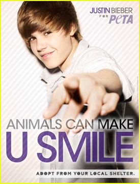 Justin Bieber: Adopt from Your Local Shelter!