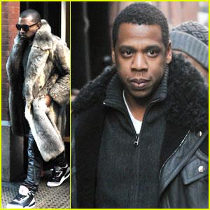 Kanye West & Jay-Z: Mercer Meeting