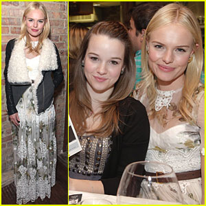 Kate Bosworth Chefdance With Kay Panabaker