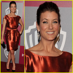 Kate Walsh: InStyle Golden Globes Party!