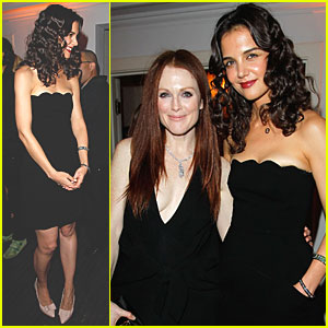 Katie Holmes & Julianne Moore: W Magazine Party!