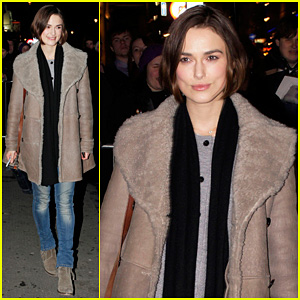 Keira Knightley: 'The Children's Hour' Performances Begin!