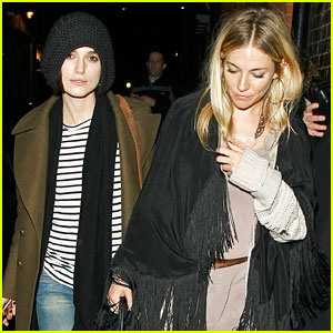 Keira Knightley: Night on the Town with Sienna Miller!