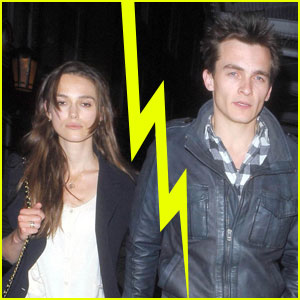 Keira Knightley &#038; Rupert Friend Split