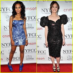 Kerry Washington & Melissa Leo: NY Film Critics Circle Awards!