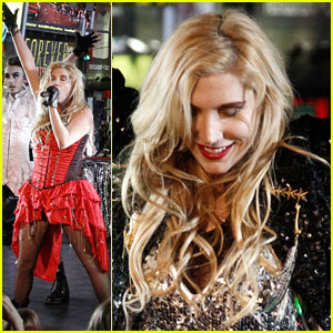Ke$ha: New Year's Rockin' Eve Performer!