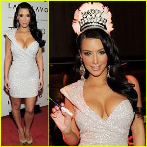 Kim Kardashian: New Year's Eve at Tao!