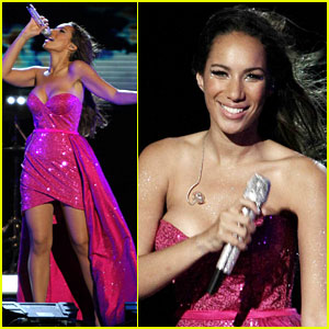 Leona Lewis: Jam on the Sand for New Year's!