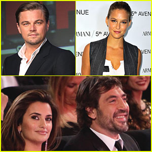 Leo DiCaprio & Bar Refaeli: Penelope Cruz's Baby Shower Guests