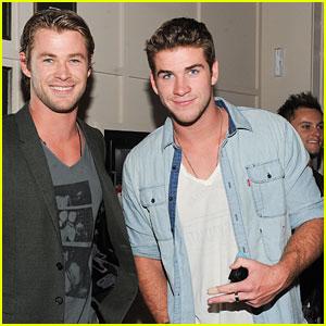 Liam Hemsworth: Birthday Party Pics!