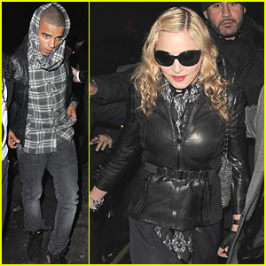 Madonna: Aura with Brahim Zaibat!
