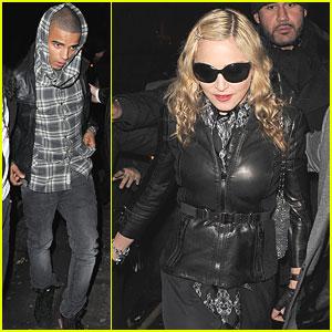 Madonna: Aura with Brahim Zaibat!