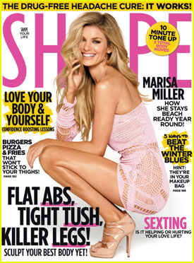 Marisa Miller Covers 'Shape' Magazine February 2011