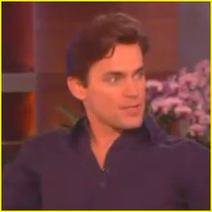 Matt Bomer Talks Thongs with Ellen DeGeneres