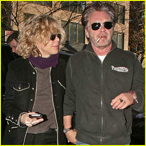 Meg Ryan & John Mellencamp: Eat Cafe Couple!