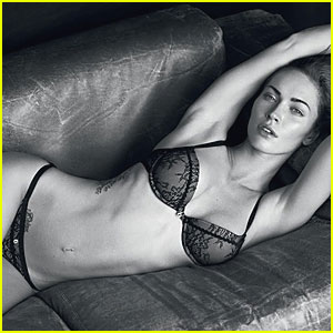 Megan Fox: Sexy Shots for Armani