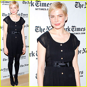 Michelle Williams: New York Times Arts & Leisure Weekend!