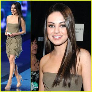Mila Kunis: People's Choice Awards 2011!