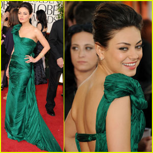 Mila Kunis - Golden Globes 2011 Red Carpet