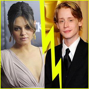 Mila Kunis & Macaulay Culkin Split