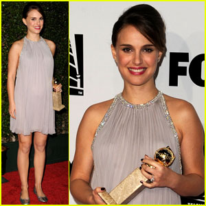 Natalie Portman: Best Actress Golden Globe!