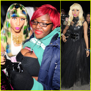 Nicki Minaj Autographs Fan's Breast
