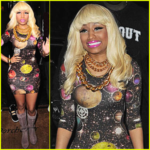 Nicki Minaj: The Center of the Universe!