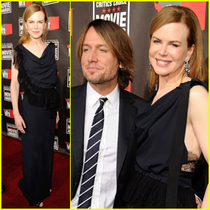 Nicole Kidman: Critics Choice with Keith Urban!