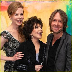 Nicole Kidman & Keith Urban: Heart for Art!