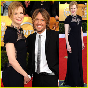 Nicole Kidman: SAG Awards with Keith Urban!