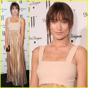 Olivia Wilde Hits 'W' Best Performances Issue Party