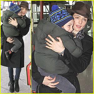 Rachel Weisz: Heathrow with Henry