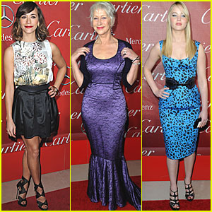 Helen Mirren & Rashida Jones: Palm Springs Awards Gala!