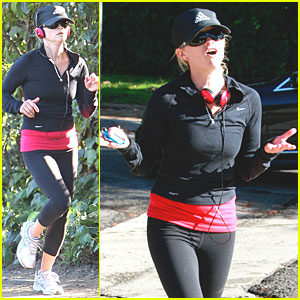 Reese Witherspoon Makes A Run For It