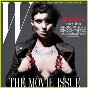 Rooney Mara Covers 'W Magazine' February 2011