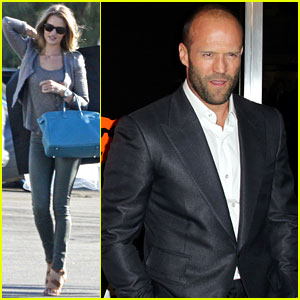 Rosie Huntington-Whiteley & Jason Statham: Leavin' L.A.!