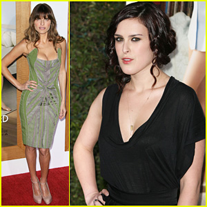Rumer Willis & Lake Bell: 'No Strings Attached' Premiere!