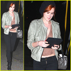 Rumer Willis: New Red Hair!