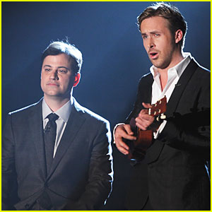 Ryan Gosling Talks Learning Ballet with Jimmy Kimmel