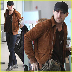 Ryan Gosling Heads Home from Toronto