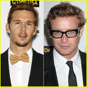 Ryan Kwanten & Simon Baker: G'Day Gala Guys
