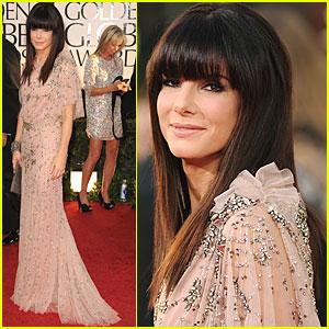 Sandra Bullock - Golden Globes 2011 Red Carpet